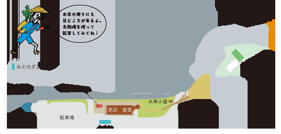 施設周辺マップ